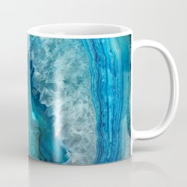 Turquoise Blue Agate Coffee Mug