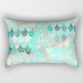 SUMMER MERMAID Rectangular Pillow
