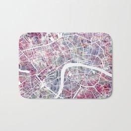 London map Bath Mat