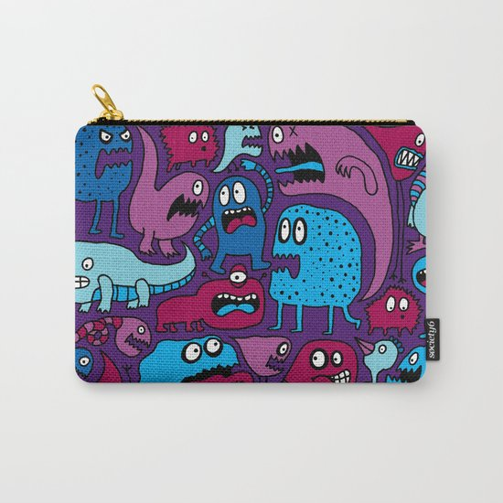More Monsters Carry-All Pouch