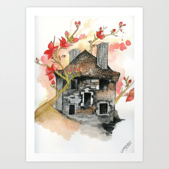 French Barn Art Print