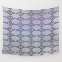 Soft Ornate Grid Pattern Wall Tapestry