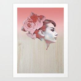 Audrey III Art Print