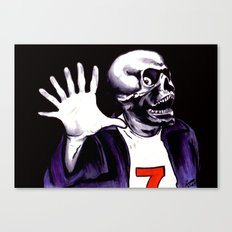 Lucky Number Seven Canvas Print