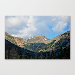 Bowen Mountain 2018 Study 4 Canvas Print