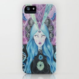 Dimensions of Nebular Awareness iPhone Case