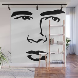 Old Hollywood - James Byron Dean Wall Mural