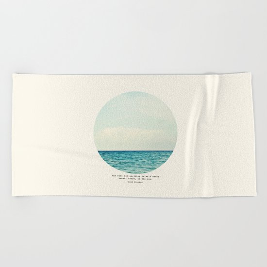 Salt Water Cure Beach Towel