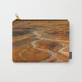 Painted Desert landscape at Petrified Forest National Park Carry-All Pouch