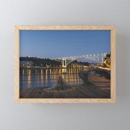 Arrabida bridge (IV) Framed Mini Art Print