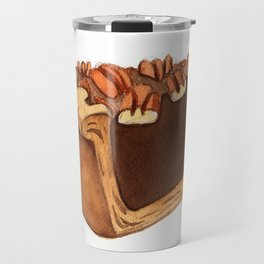 Pecan Pie Slice Travel Mug