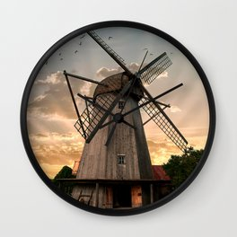 Windmills of Estonia Wall Clock