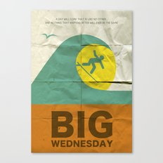 Big Wednesday Canvas Print
