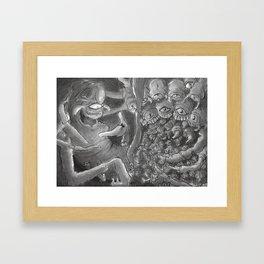 Spiderbro Framed Art Print