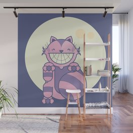 Cheshire Cat - Alice in Wonderland Wall Mural