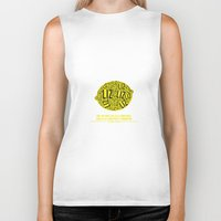 30 rock Biker Tanks featuring 30 rock - liz lemon by lissalaine