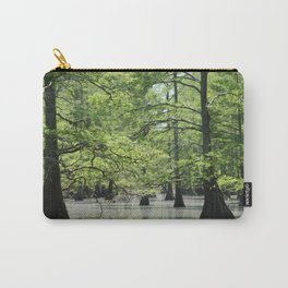 Cypress Trees in the Louisiana Swamp Carry-All Pouch