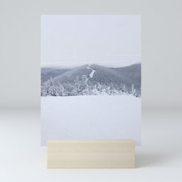 Vermont Ski Trail Mini Art Print