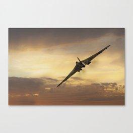 Vulcan Delta Lady Canvas Print