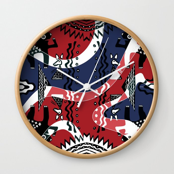 Soul Of the Dream Desert (Red River Edition) Wall Clock
