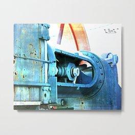 Old Steam Metal Print