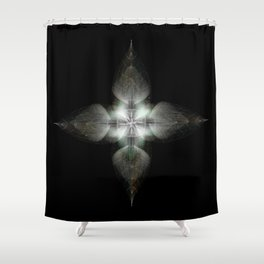 Four Feathers Shower Curtain