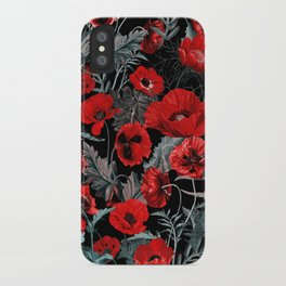 Poppy Garden iPhone Case