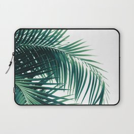 Palm Leaves Green Vibes #6 #tropical #decor #art #society6 Laptop Sleeve