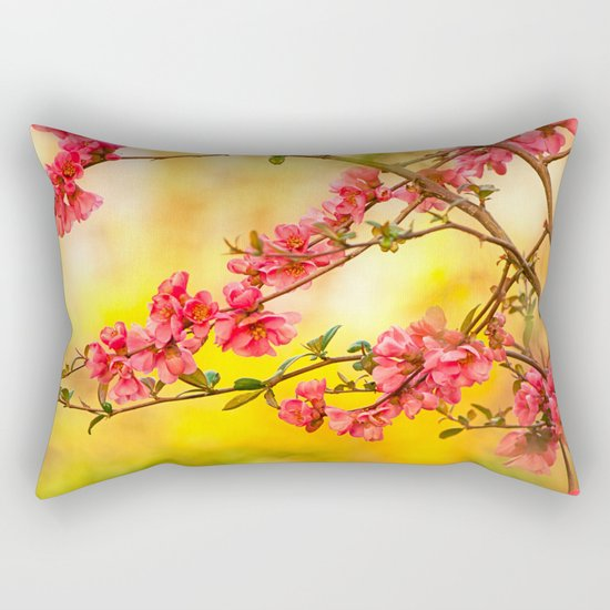 Spring is beautiful Rectangular Pillow