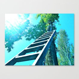 She's Buying A Stairway To Heaven Canvas Print