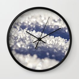 Close to the ice Wall Clock