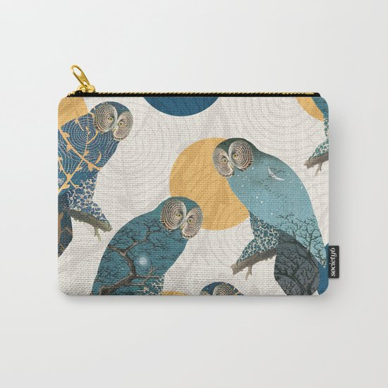 Night Owl Polka Carry-All Pouch