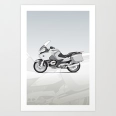 RT-1200 (Dad's Ride) Art Print