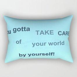 Fly: You Gotta Rectangular Pillow