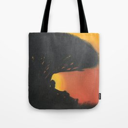 """""""The Sun Sits"""" Tote Bag"""