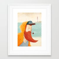 beach Framed Art Prints featuring Beach by Seaside Spirit