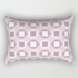 Candy Sweets Pink Champagne Pattern Rectangular Pillow