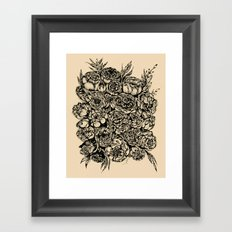 Wedding Flowers Framed Art Print