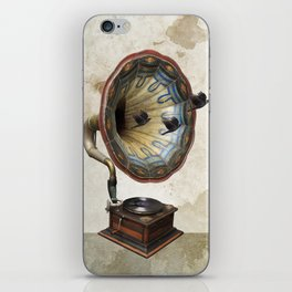 the sound of crows iPhone Skin