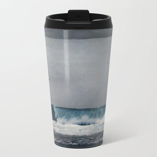 Wave II Metal Travel Mug