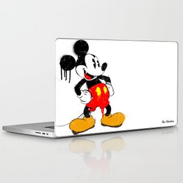 Mickey The Warrior Mouse Laptop & iPad Skin
