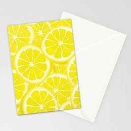 Splash of Lemon Watercolor Stationery Cards