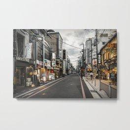 Kyoto Metal Print