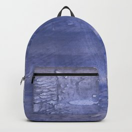 Dark blue abstract Backpack