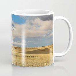 Iowa in November - Golden Corn Field in Autumn Coffee Mug