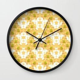 Tulip_South Africa_Peach kosmos Wall Clock