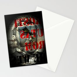 shadow death heroes GRANT Stationery Cards