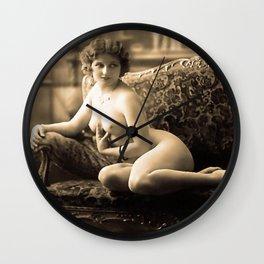 20's girl Wall Clock