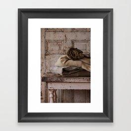 Les Tissus II Framed Art Print