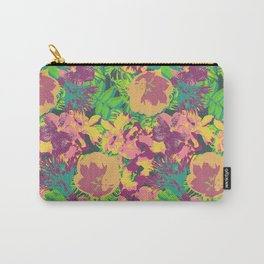 Neon Tropical Carry-All Pouch
